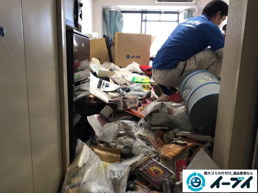 2017年11月11日大阪府大阪市中央区で汚部屋、ゴミ屋敷の片付けをしました。写真4