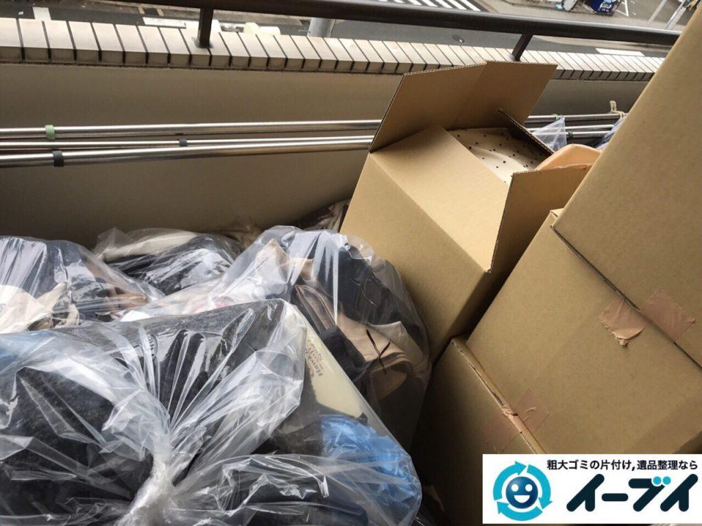 2017年11月14日大阪府寝屋川市で引越しゴミやベランダの粗大ゴミなど不用品回収をしました。写真8