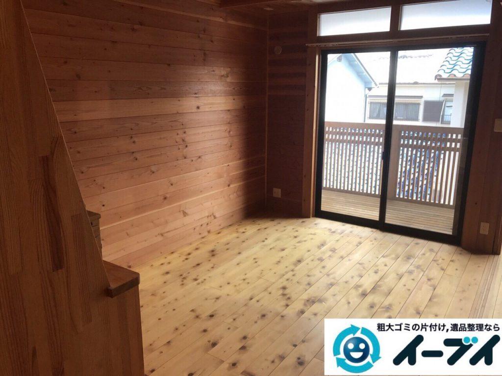 2017年11月20日大阪府大阪市中央区で引越し後の家具処分や粗大ゴミの不用品回収をしました。写真8