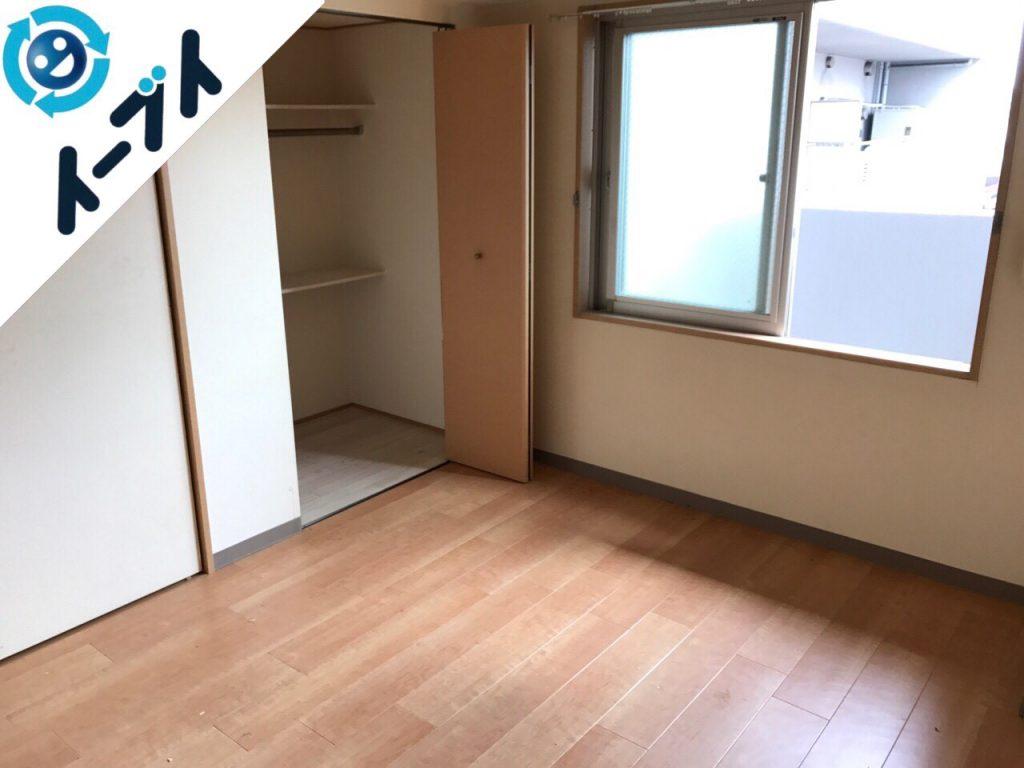 2017年12月1日大阪府門真市でベッドの家具処分や座イスなど粗大ゴミの不用品回収をしました。写真4