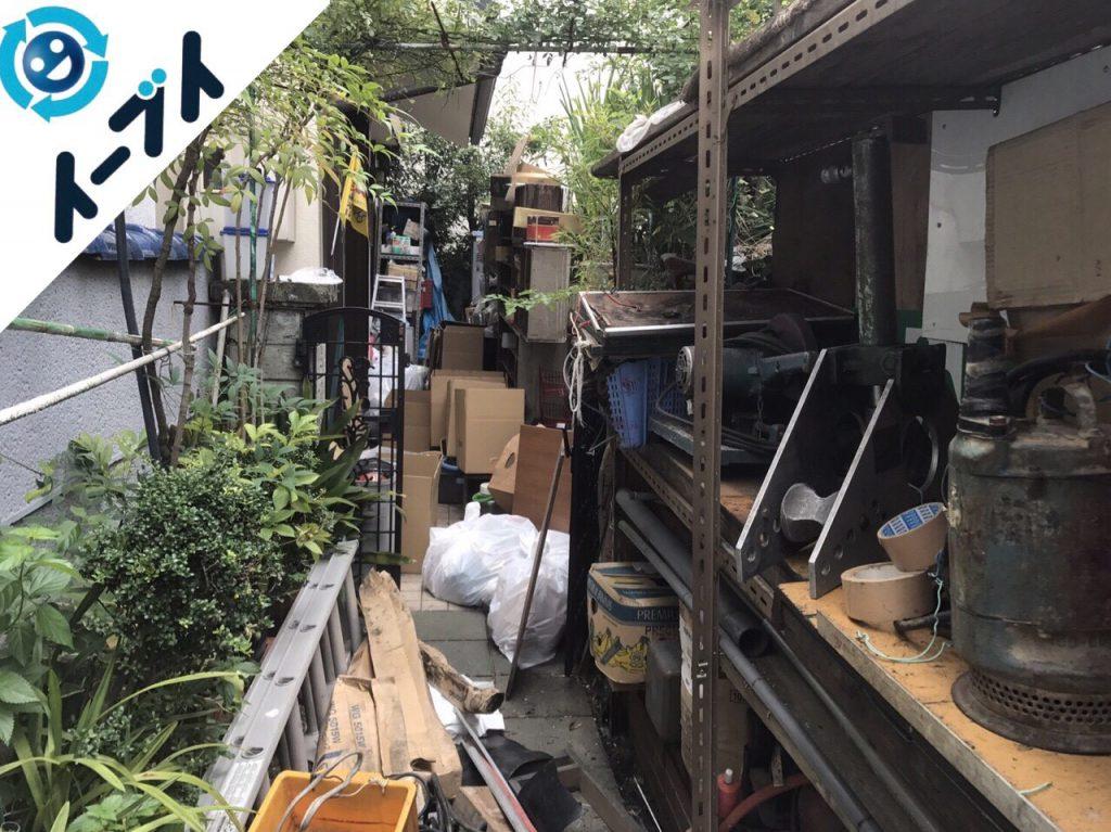2017年11月29日大阪府柏原市で庭の植木や廃材の不用品回収をしました【2日目】写真6