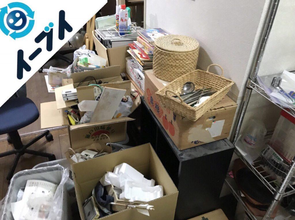 2017年11月30日大阪府和泉市で部屋の粗大ゴミを全て不用品回収しました。写真6
