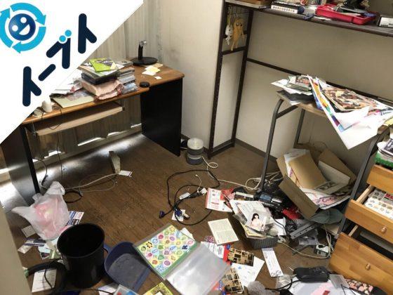 2017年11月30日大阪府和泉市で部屋の粗大ゴミを全て不用品回収しました。写真4