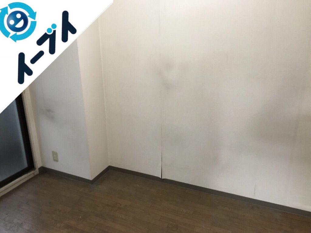 2017年11月30日大阪府和泉市で部屋の粗大ゴミを全て不用品回収しました。写真1