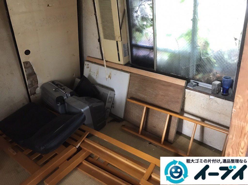 2017年12月3日大阪府豊中市で遺品整理に伴う家具や生活用品の粗大ゴミの片付けをしました。写真4
