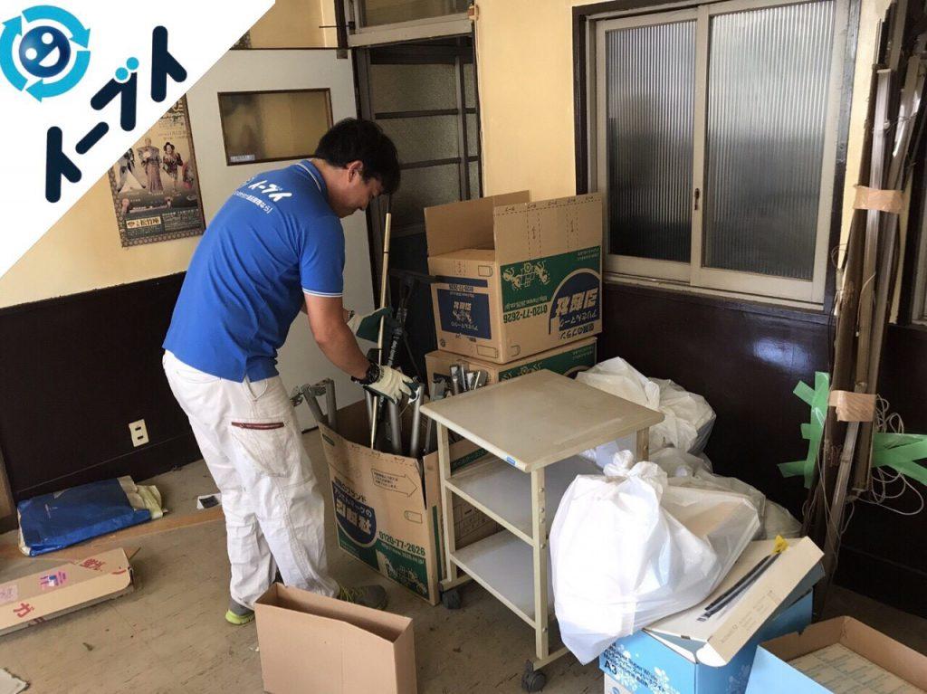 2017年12月27日大阪府大阪市中央区で事務所の移転に伴う不用品回収作業。【前半】写真1