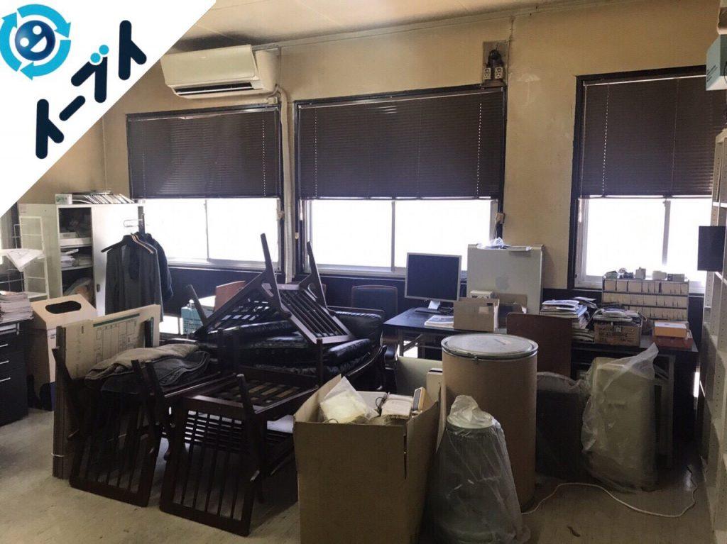 2017年12月27日大阪府大阪市中央区で事務所の移転に伴う不用品回収作業。【前半】写真7