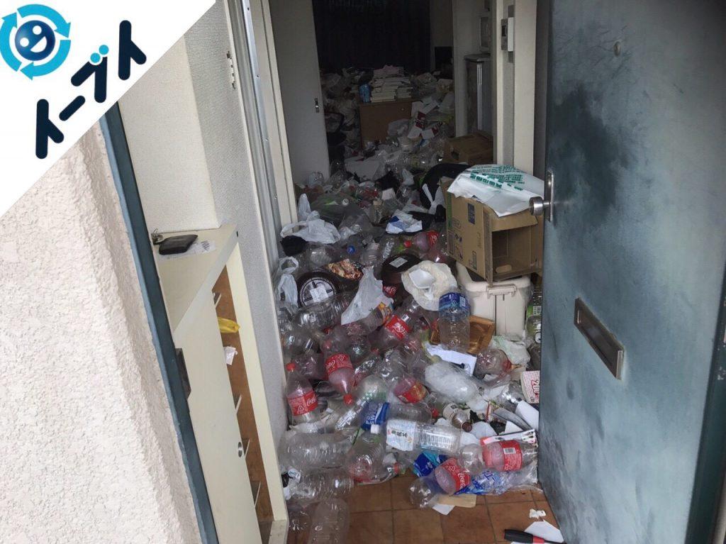 2017年12月30日大阪府大阪市鶴見区で汚部屋状態のゴミの片付け処分をしました。写真6
