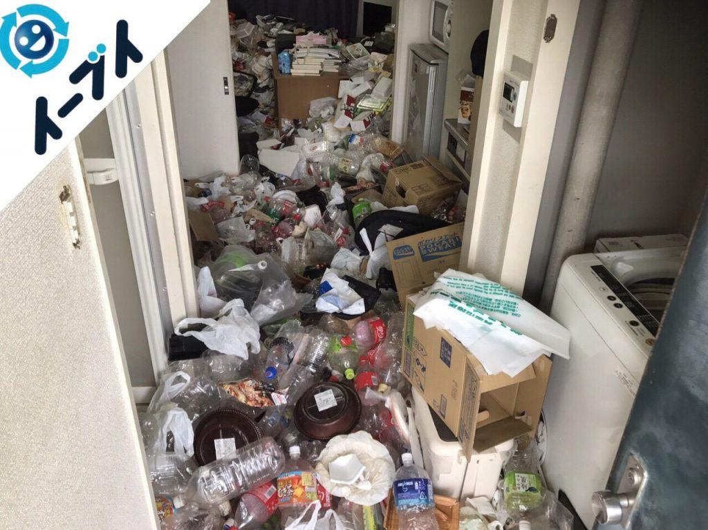 2017年12月30日大阪府大阪市鶴見区で汚部屋状態のゴミの片付け処分をしました。写真4