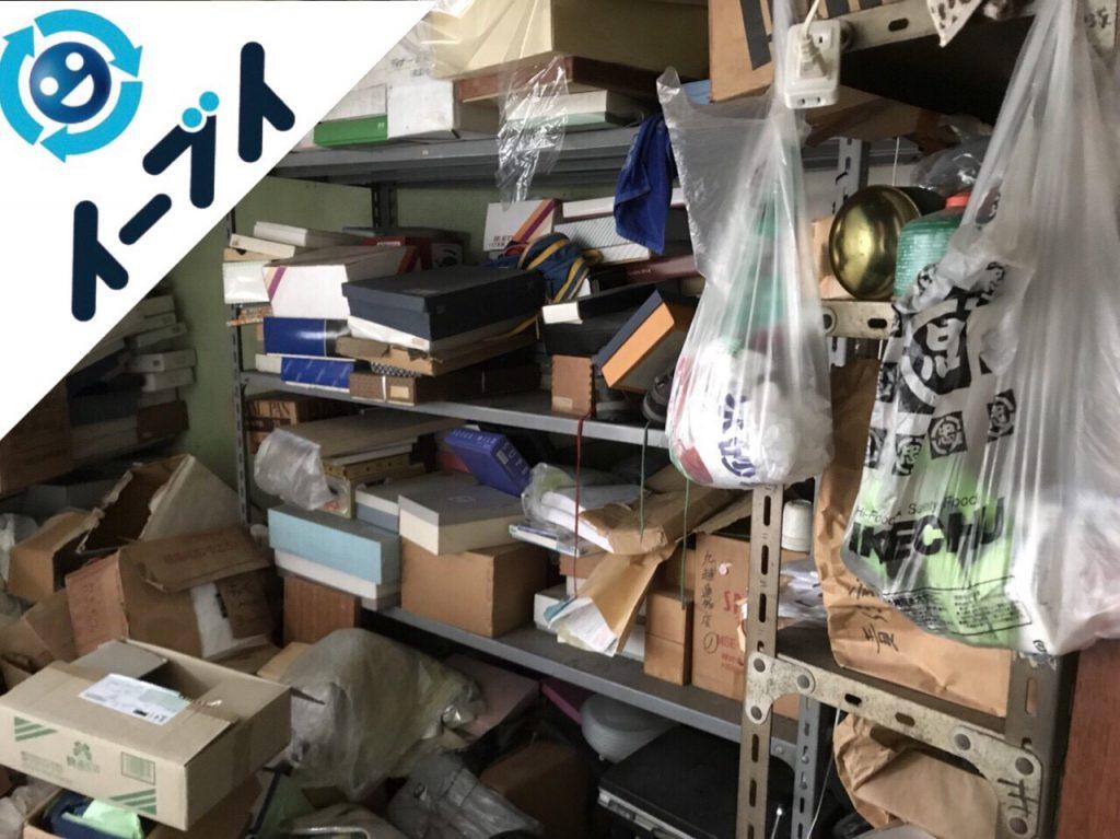 2018年1月8日大阪府大阪市東淀川区で店舗閉店に伴い不用品回収をしました。写真4