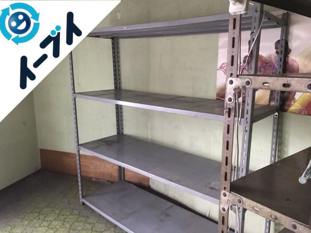2018年1月8日大阪府大阪市東淀川区で店舗閉店に伴い不用品回収をしました。写真3