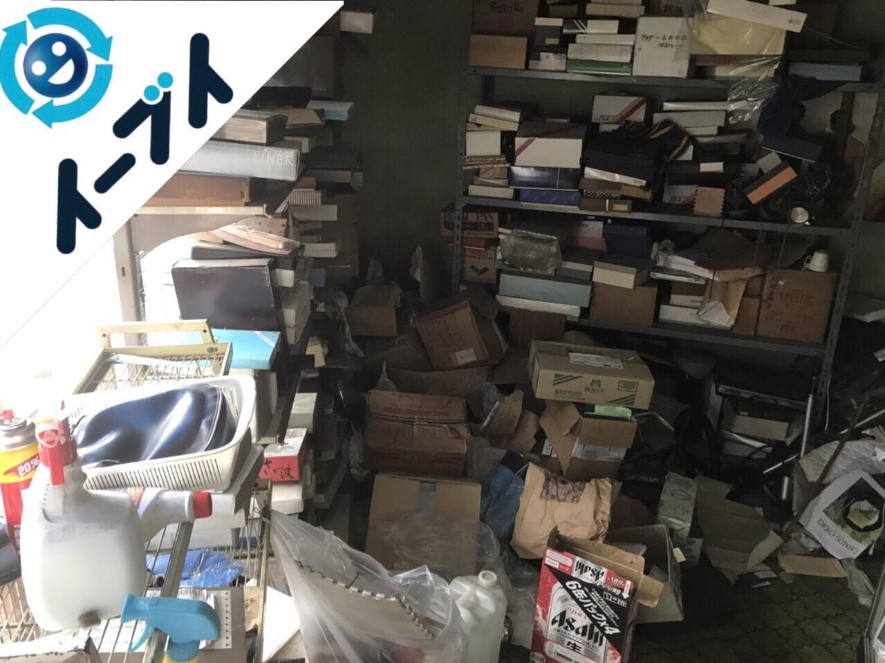 2018年1月8日大阪府大阪市東淀川区で店舗閉店に伴い不用品回収をしました。写真2