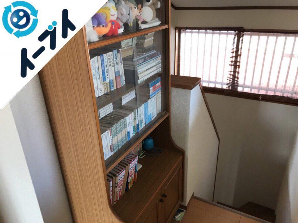 2017年12月18日大阪府門真市で本棚やダイニングテーブル等を家具処分で不用品回収をしました。写真2