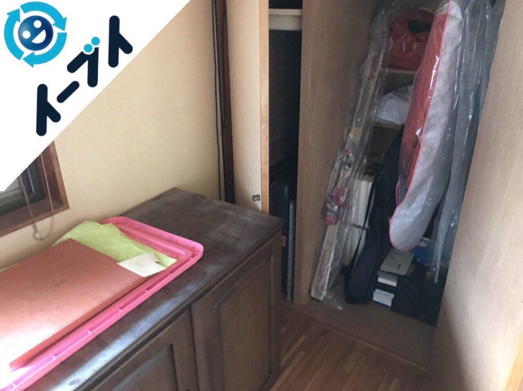 2017年12月23日大阪府枚方市で家具処分や布団などの粗大ゴミの不用品回収をしました。写真7