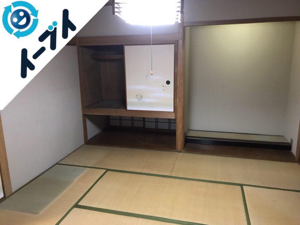 2017年12月20日大阪府枚方市で遺品処分に伴い遺品整理や片付け処分をしました。写真4
