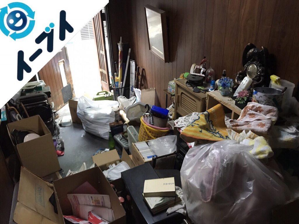 2017年12月12日大阪府大阪市住之江区で物が散乱したゴミ屋敷の片付けをしました。写真6