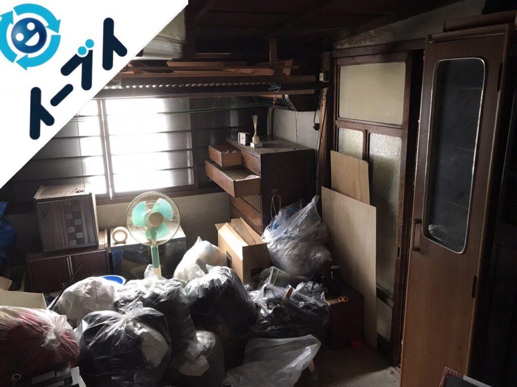 2017年12月5日大阪狭山市で大掃除に伴う廃品の不用品回収をしました。写真4
