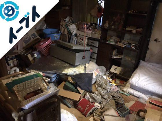 2017年12月12日大阪府大阪市住之江区で物が散乱したゴミ屋敷の片付けをしました。写真4