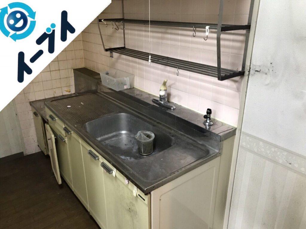 2018年1月5日大阪府大阪市東成区で台所の不用品や粗大ゴミの片付け処分をしました。写真6