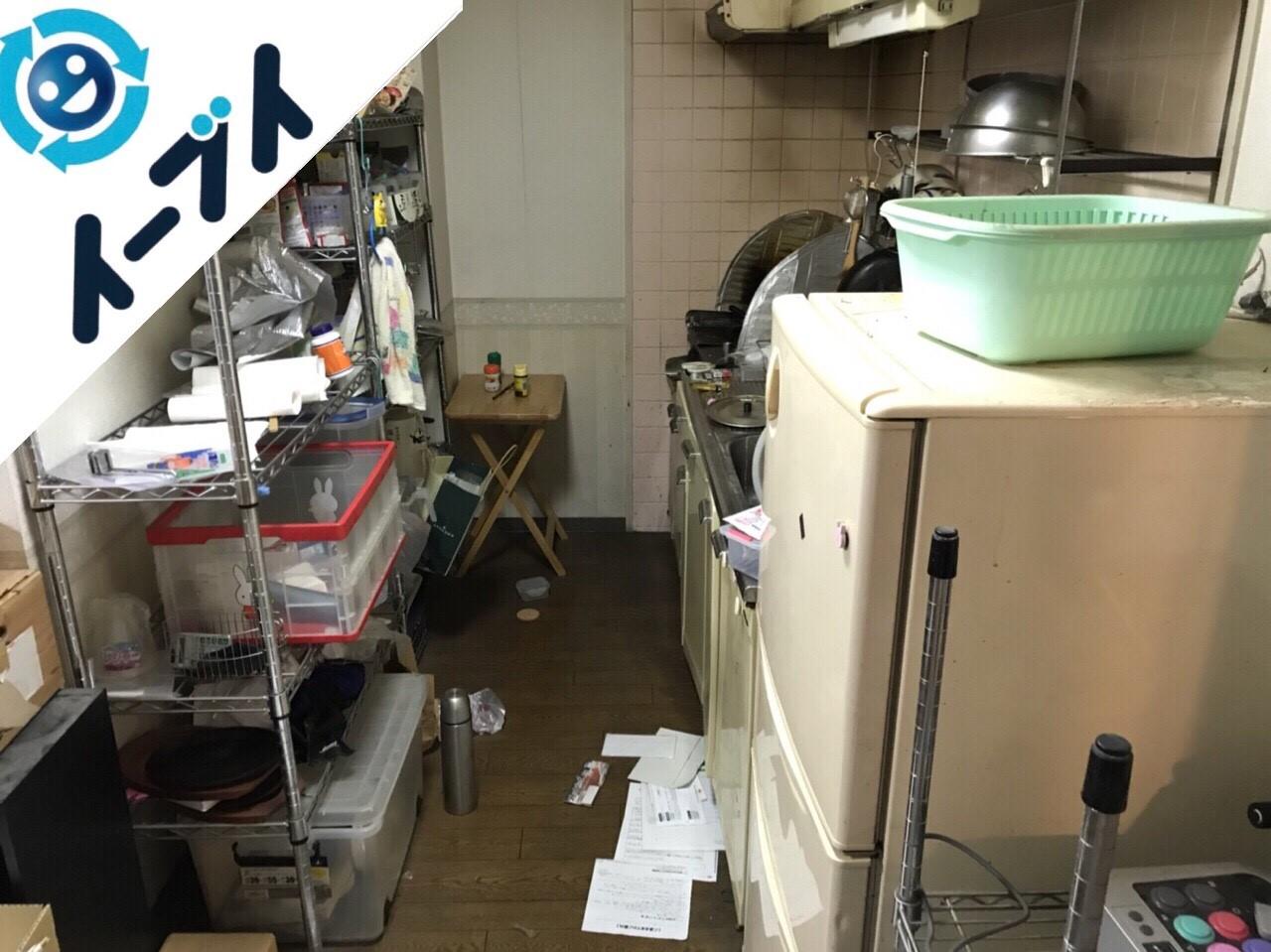 2018年1月5日大阪府大阪市東成区で台所の不用品や粗大ゴミの片付け処分をしました。写真5