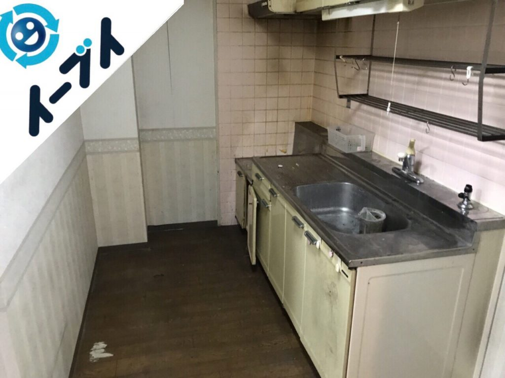 2018年1月5日大阪府大阪市東成区で台所の不用品や粗大ゴミの片付け処分をしました。写真4