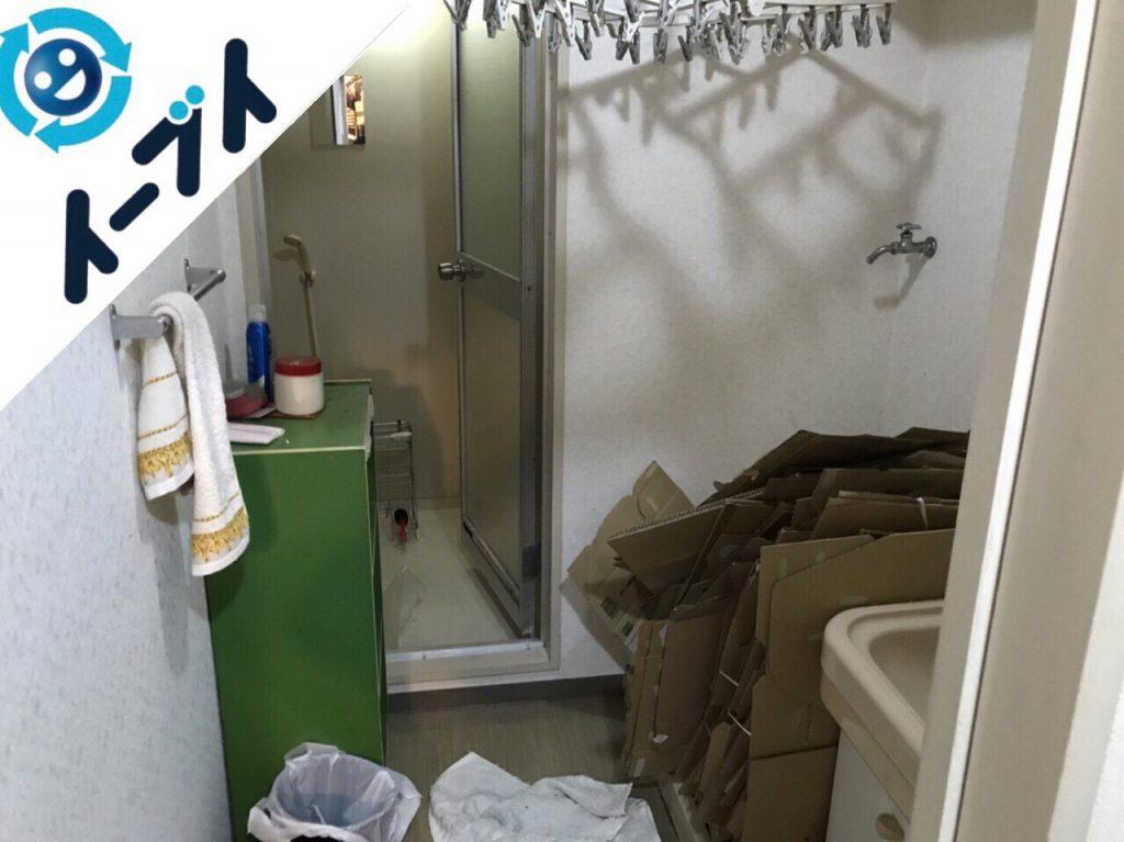 2018年1月5日大阪府大阪市東成区で台所の不用品や粗大ゴミの片付け処分をしました。写真3
