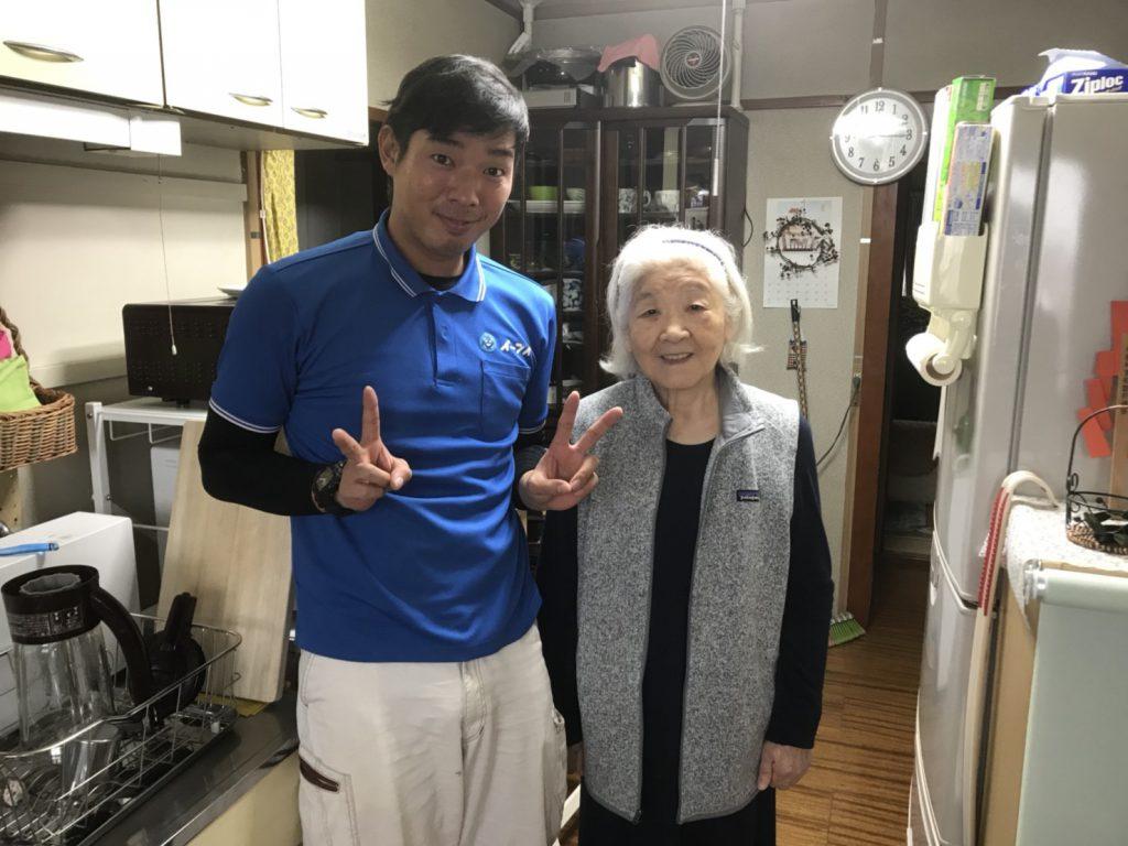 2017年1月1日大阪府大阪市福島区で不用な家具家電を処分するのにイーブイをご利用して頂きました。写真1