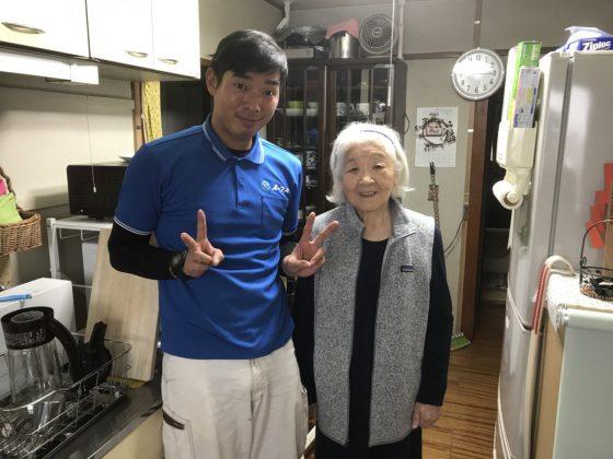 2018年1月1日大阪府大阪市福島区で不用な家具家電を処分するのにイーブイをご利用して頂きました。写真1