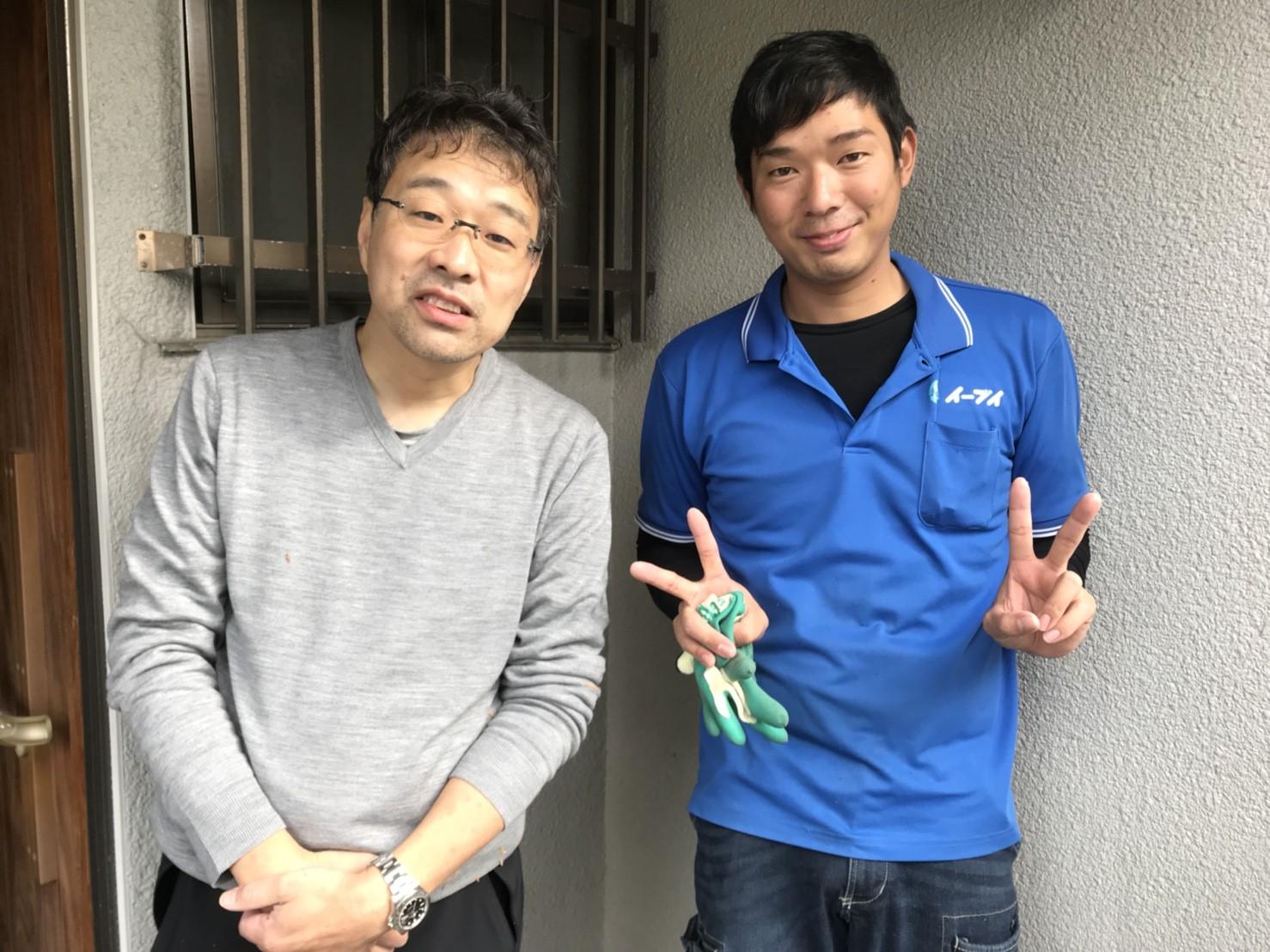 2017年12月8日兵庫県宝塚市花屋敷で家財道具の処分でイーブイをご利用して頂きました。写真1