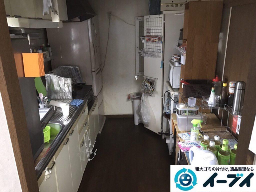 2018年1月23日大阪府大阪市北区で遺品整理に伴う家具処分や遺品処分をしました。写真6