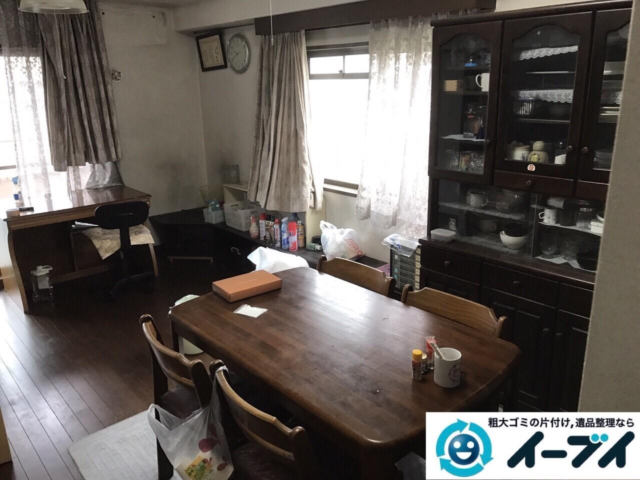 2018年1月23日大阪府大阪市北区で遺品整理に伴う家具処分や遺品処分をしました。写真8