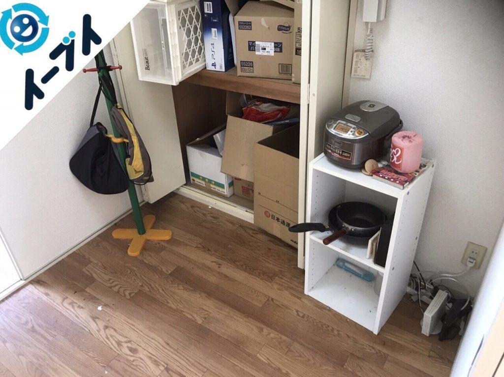 2018年1月26日大阪府大阪市北区で隠れゴミ屋敷状態の部屋の片付け処分をしました。写真5