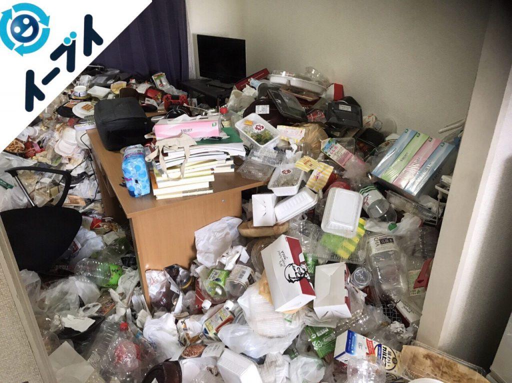 2018年1月26日大阪府大阪市北区で隠れゴミ屋敷状態の部屋の片付け処分をしました。写真4