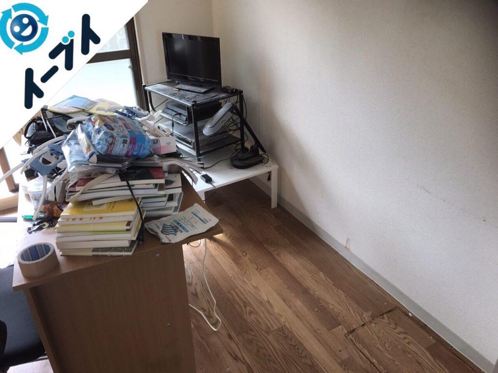 2018年1月26日大阪府大阪市北区で隠れゴミ屋敷状態の部屋の片付け処分をしました。写真3