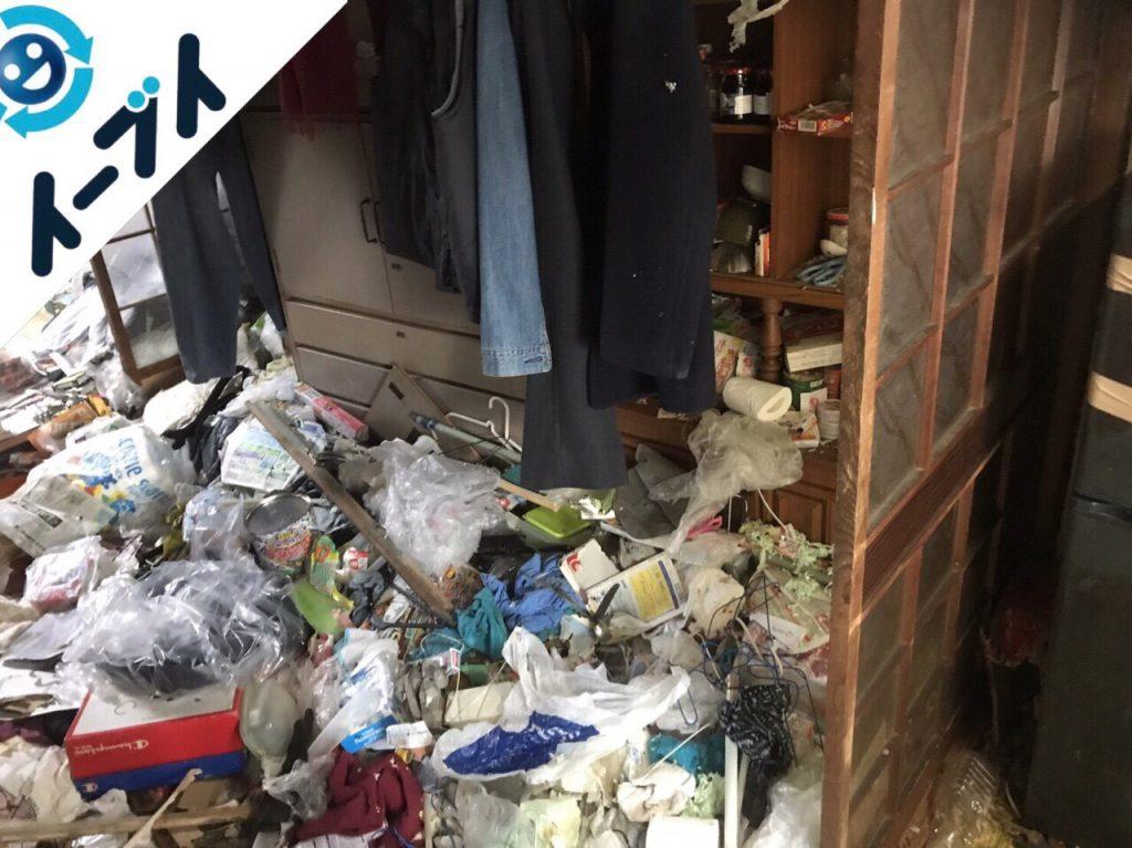 2018年1月22日大阪府大阪市淀川区でゴミ屋敷の片付け処分をしました。写真2