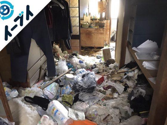 2018年1月22日大阪府大阪市淀川区でゴミ屋敷の片付け処分をしました。写真5