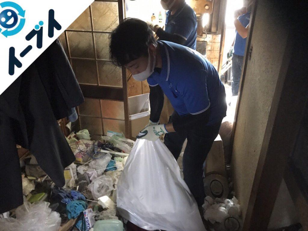 2018年1月22日大阪府大阪市淀川区でゴミ屋敷の片付け処分をしました。写真3