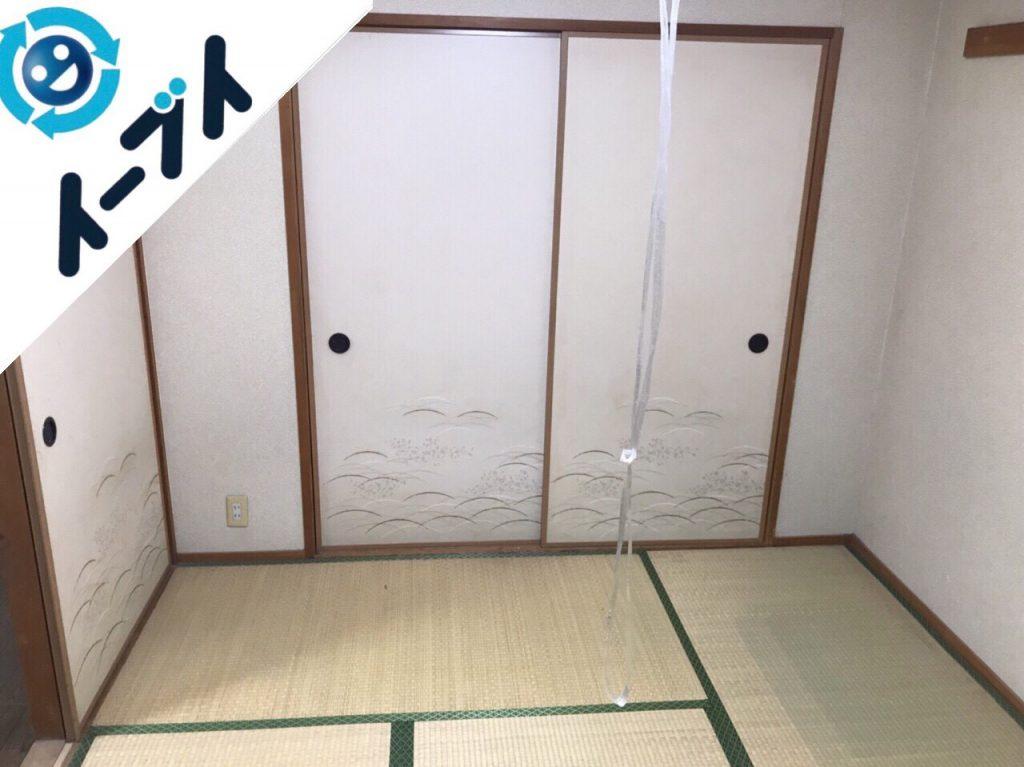 2018年1月19日大阪府大阪市平野区でベッドやラックなど粗大ゴミを不用品回収しました。写真3