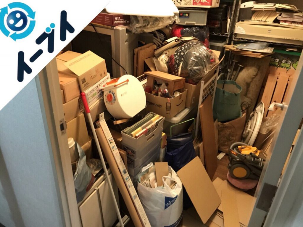 2018年1月29日大阪府大阪市淀川区で大掃除に伴い部屋の丸ごと粗大ゴミの不用品回収をしました。写真6