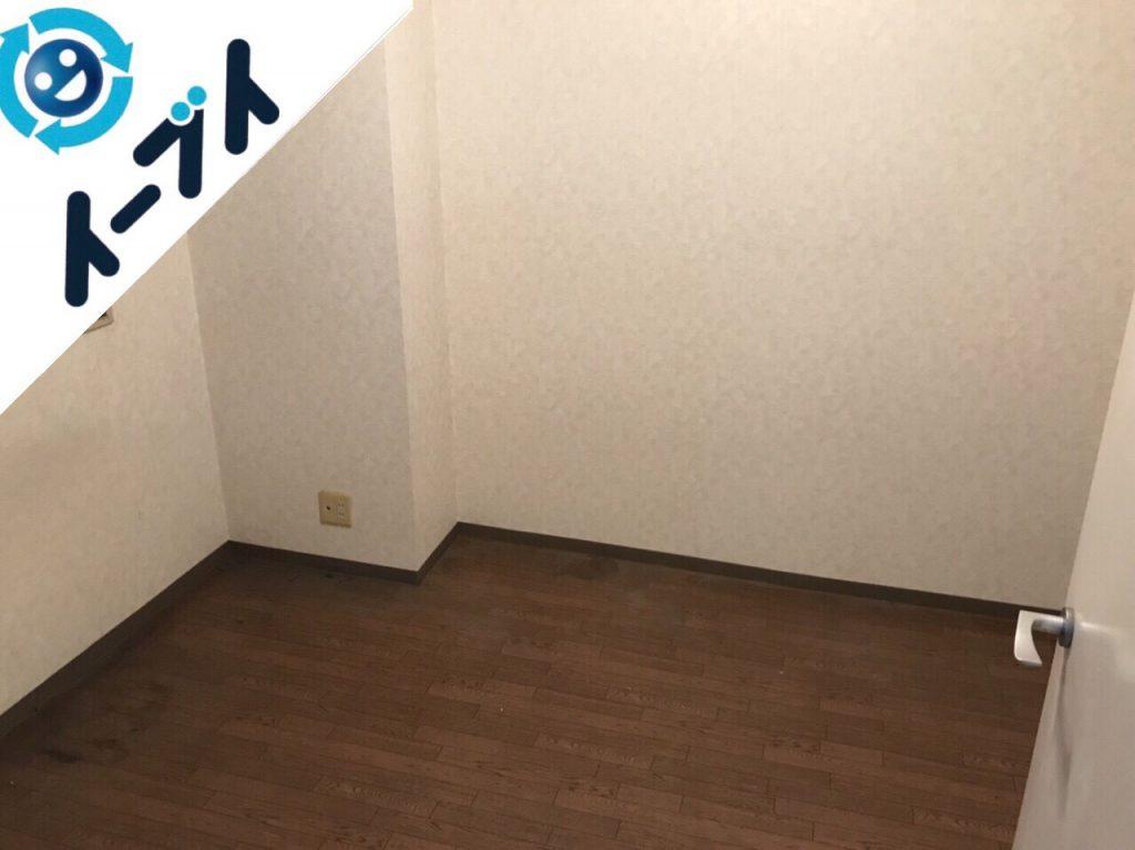 2018年1月29日大阪府大阪市淀川区で大掃除に伴い部屋の丸ごと粗大ゴミの不用品回収をしました。写真5