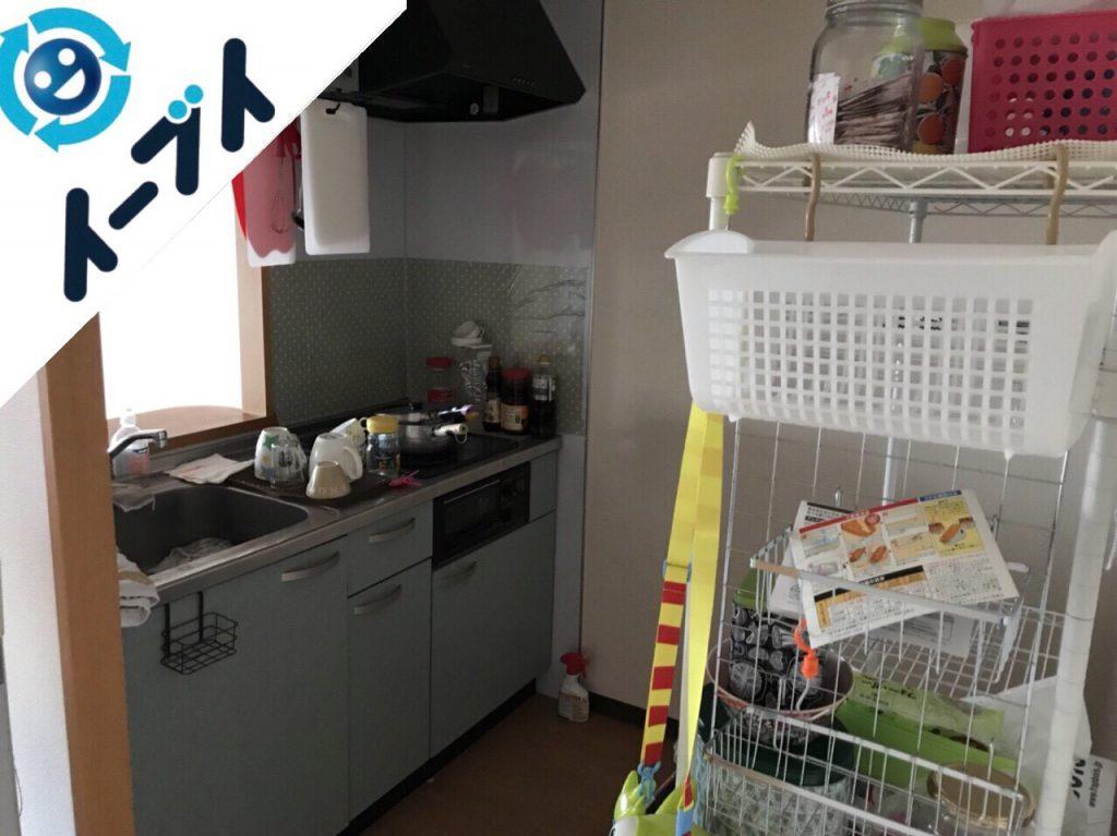 2018年2月10日大阪府高石市で引越し後の粗大ゴミを不用品回収しました。写真3