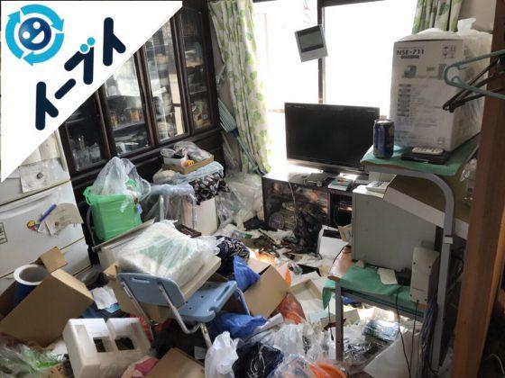 2018年2月3日大阪府茨木市でゴミ屋敷の家具処分や片付け作業。写真5