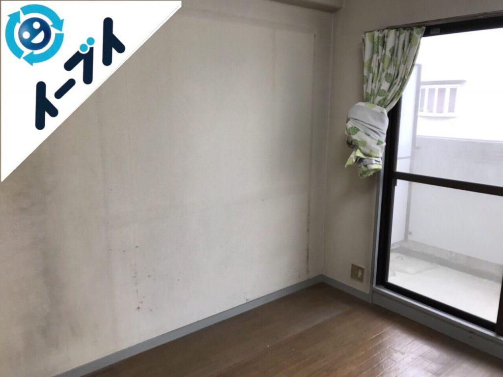 2018年2月3日大阪府茨木市でゴミ屋敷の家具処分や片付け作業。写真4
