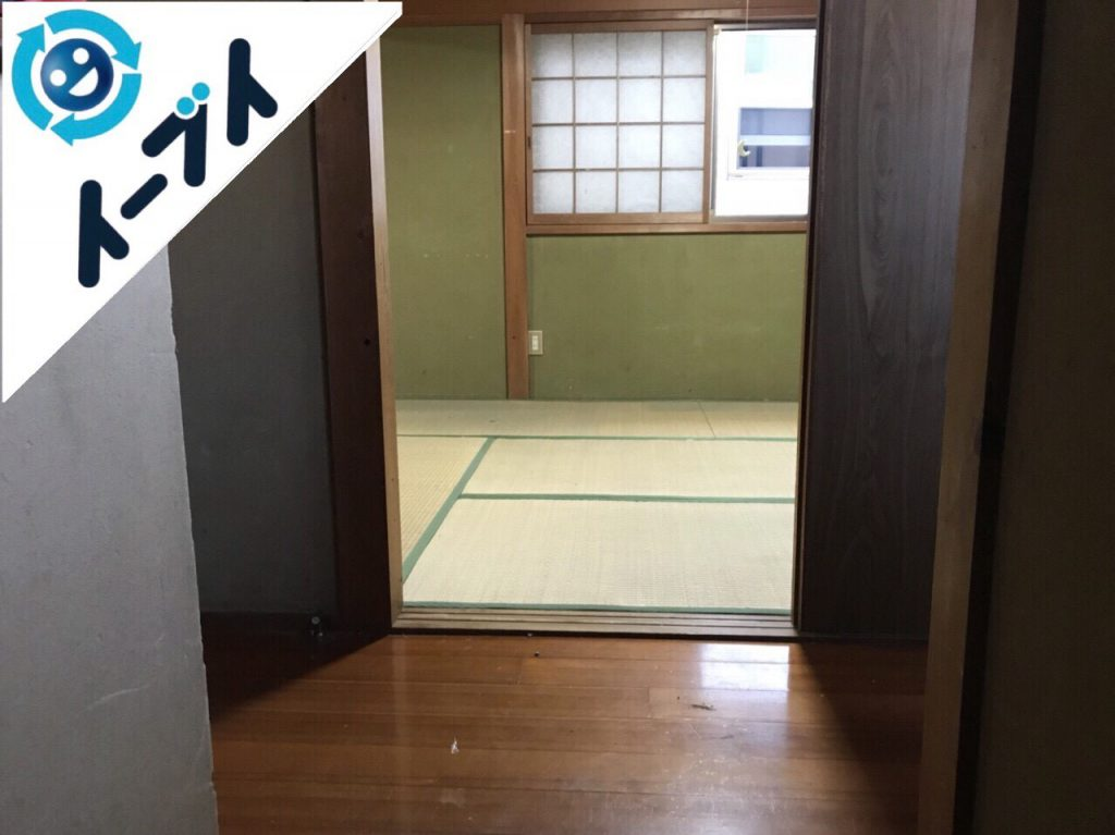 2018年2月6日大阪府岸和田市でゴミ屋敷の片付けをしました。写真5