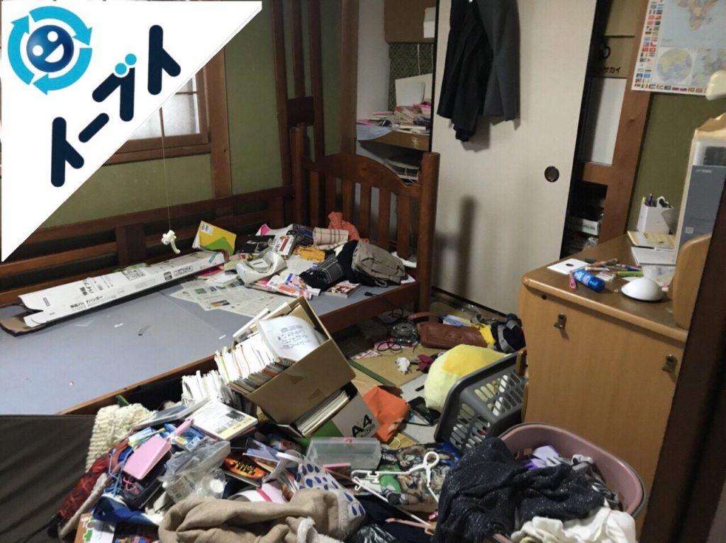 2018年2月6日大阪府岸和田市でゴミ屋敷の片付けをしました。写真4