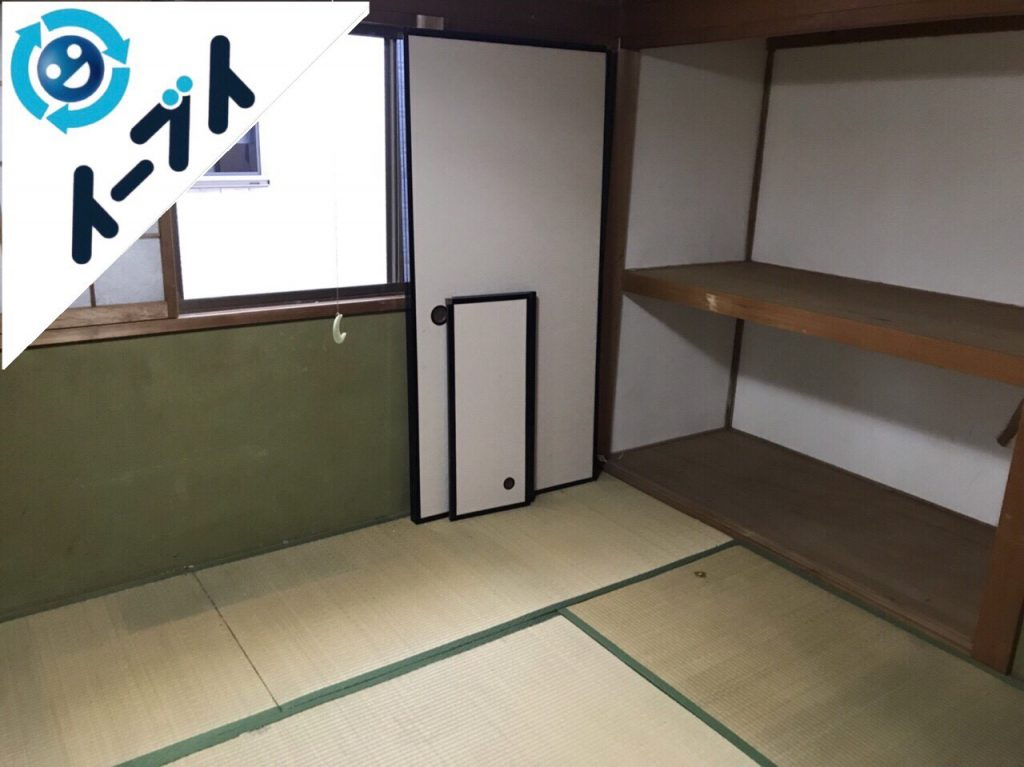 2018年2月6日大阪府岸和田市でゴミ屋敷の片付けをしました。写真3