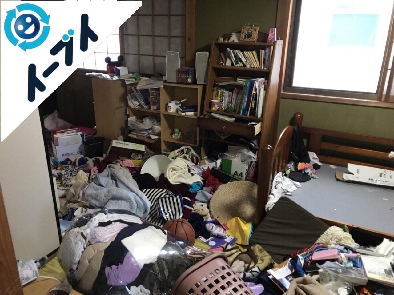 2018年2月6日大阪府岸和田市でゴミ屋敷の片付けをしました。写真2