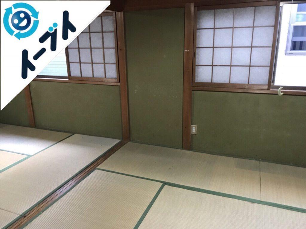 2018年2月6日大阪府岸和田市でゴミ屋敷の片付けをしました。写真1