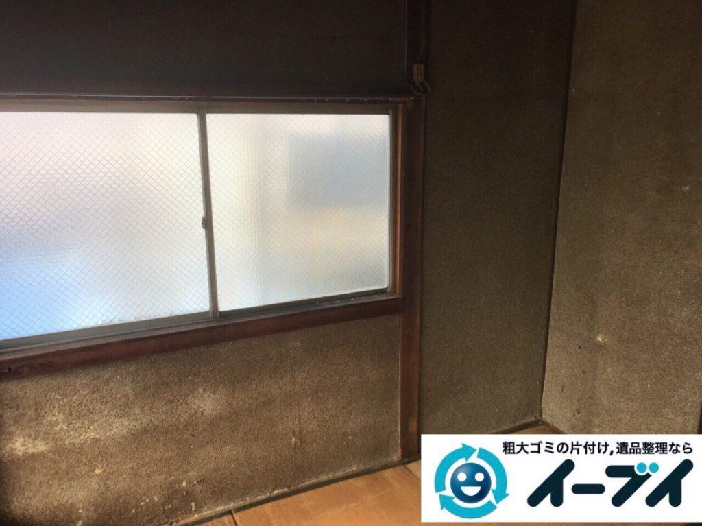 2018年2月28日大阪府大阪市生野区でタンスや布団や鏡台など不用品回収をしました。写真3