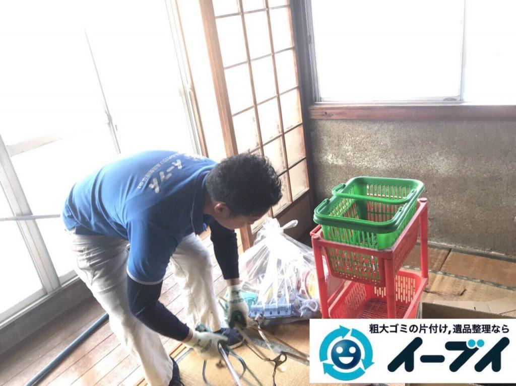 2018年2月28日大阪府大阪市生野区でタンスや布団や鏡台など不用品回収をしました。写真1